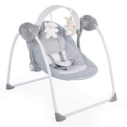 Качельки Chicco Swing Relax & Play, расцветка Cool Grey