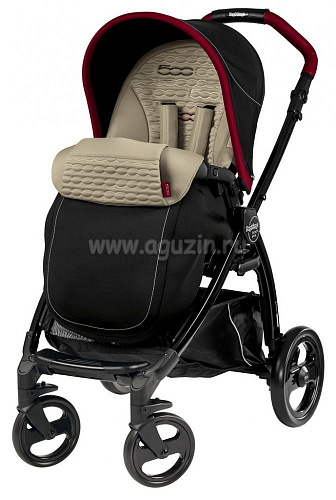 Коляска 3 в 1 Peg-Perego Book Plus Fiat 500